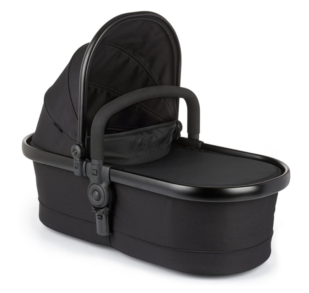 iCandy Peach All Terrain - Pushchair -  Carry Cot - BLACK-jpg