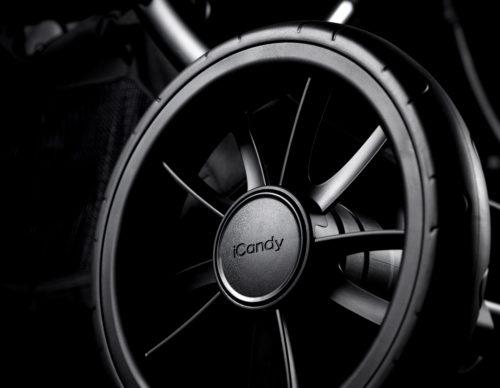 iCandy Lime on Black – Rear Wheel