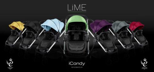 iCandy Lime on Black – Lime Fan – w-logo