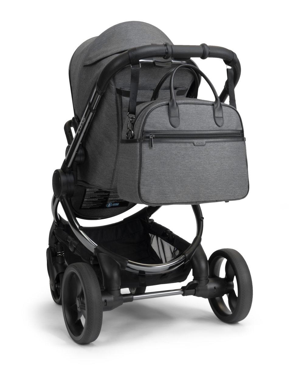 Grey TwillBag and Bag Clips-jpg