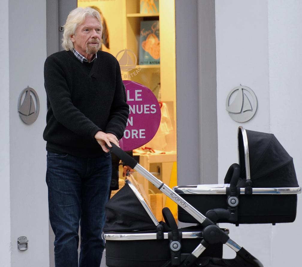 Celebrity: Sir Richard Branson